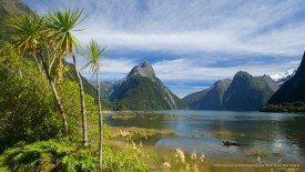 Milford Sound, Fjordland National Park, South Island, New Zealand
